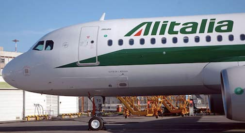 Alitalia lascia la partnership con Air France