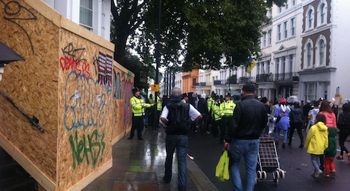 Notting Hill, Carnevale con le barricate
