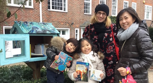 Parla italiano la Little Free Library di Holland Park