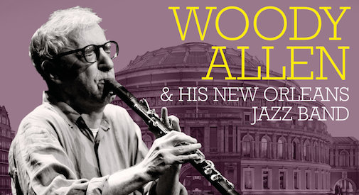Woody Allen con la sua jazz band alla Royal Albert Hall di Londra