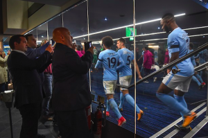 "La ""Tunnel Experience"" all'Etihad Stadium"
