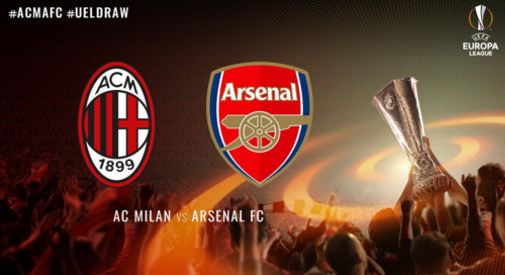 Europa League, sarà Arsenal-Milan