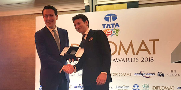 "Ambasciata a Londra, Federico Bianchi nominato ""Young diplomat of the year"""