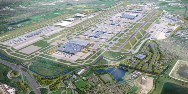 Il governo May approva l'espansione di Heathrow