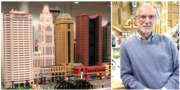 """Build it like him"": a Londra con i Lego per sentirsi Renzo Piano"
