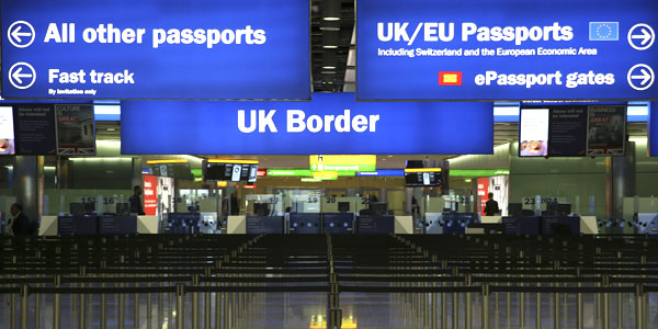 Post Brexit: visto di 1 anno e soglia di 30mila sterline per entrare in UK