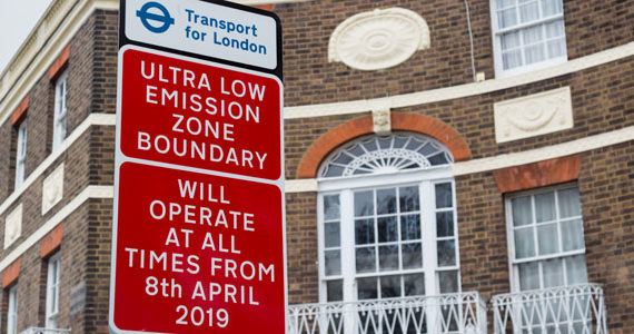 A Londra da lunedi le Ultra Low Emission Zone