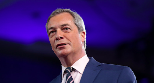 Il nuovo Brexit Party di Farage in testa ai sondaggi per le europee