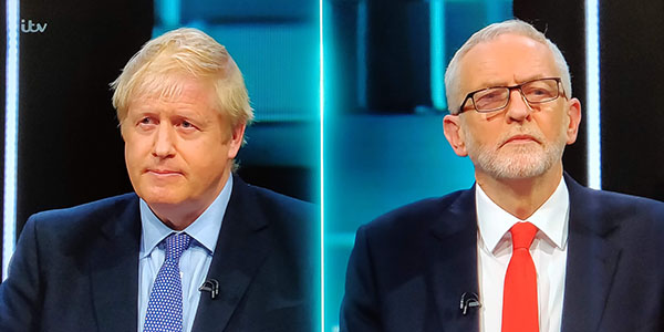 Johnson Vs Corbyn: stretta di mano in tv, ma i leader non convincono